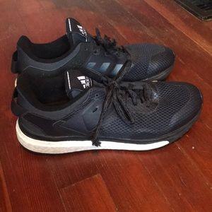 Black Adidas Boost Response Sneakers